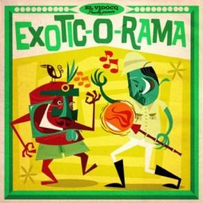 VARIOUS -  Exotic-O-Rama  LP + CD