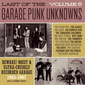 "VARIOUS ARTISTS ""Last Of The Garage Punk Unknowns Volume 6"" (Gatefold) LP"