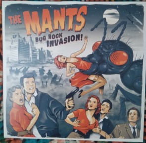 THE MANTS - Bug Rock Invasion 10""