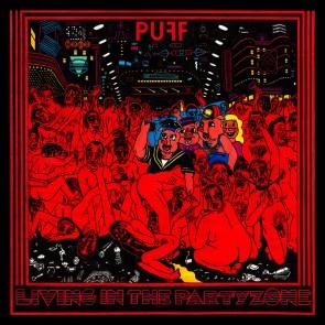 "PUFF! ""Living In The Partyzone"" LP (Black Vinyl)"