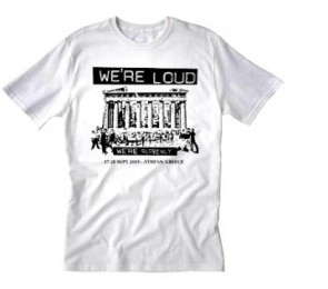 WE'RE LOUD 2015 FEST T-SHIRT WHITE - Size XL