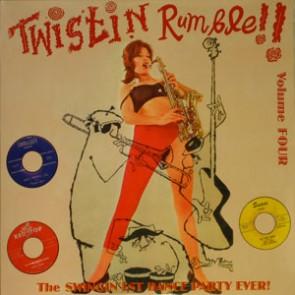 VARIOUS ARTISTS 'Twistin' Rumble Vol. 4' LP