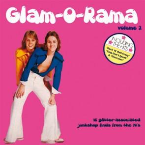 """VARIOUS """"Glam-O-Rama Vol 2"""" LP"""