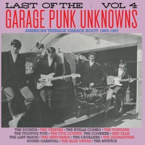 "VARIOUS ARTISTS ""The LAST Of The Garage Punk Unknowns Volume 4"" LP (Gatefold)"