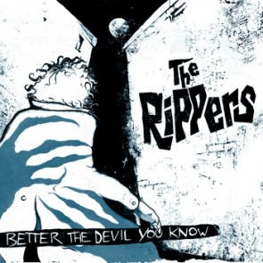 """THE RIPPERS """"Better The Devil You Know"""" CD"""